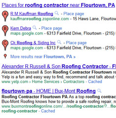 Roofer near Flourtown PA